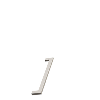 Furnipart Flat - 143mm Long - Inox
