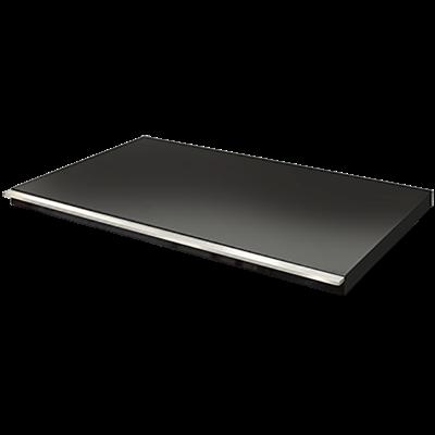ARTUSI Flat BBQ Lid - Black - ABFLAT
