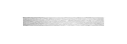 Waterproof Brushed Aluminium (4mm Thick) - 100mm x 3100mm