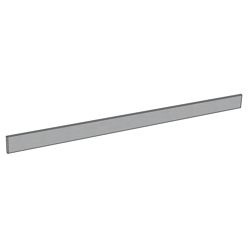 Waterproof Brushed Stainless Steel - 100mm x 3600mm