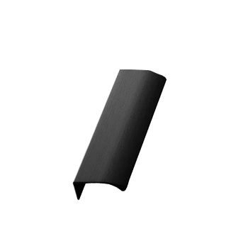 Furnipart Edge Straight - 100mm Long - Brushed Matt Black