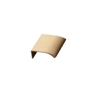 Furnipart Edge Straight - 40mm Long - Brass