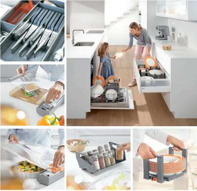 Blum Orga-Line Kitchen Accessories Kit