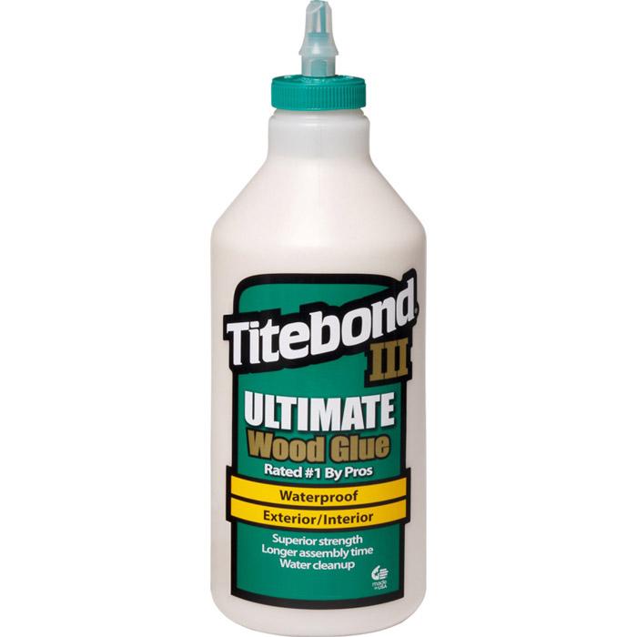 Titebond III Ultimate Wood Glue Waterproof (PVA) 473mL