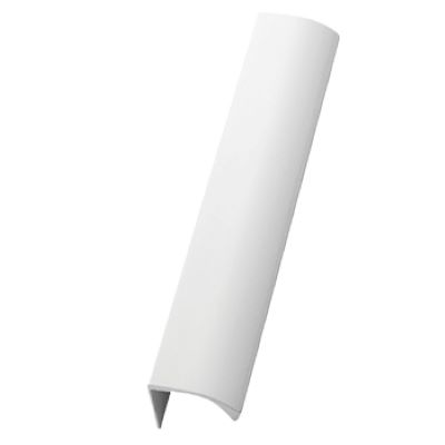Furnipart Edge Straight - 350mm Long - White