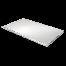 ARTUSI Flat BBQ Lid - Stainless Steel - ABBQMF