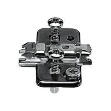 Blum Mounting Plates 0mm - Onyx