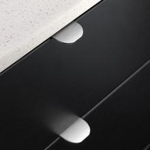 Furnipart Edge Round - 40mm Long - Inox