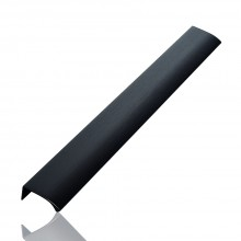 Furnipart Edge Straight - 350mm Long - Brushed Matt Black