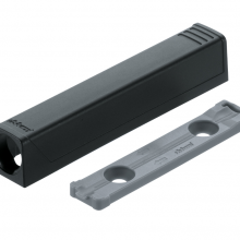Blum Tip-On Housing - Black (Long)
