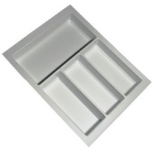 Cutlery Tray Suit 450mm Wide Drawer (White)