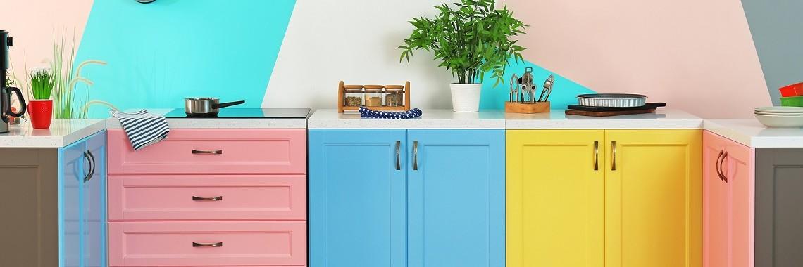 A Colourful Kitchen In Perth