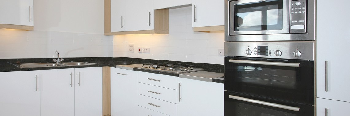 Modern Laminated Kitchen Cabinets In Perth