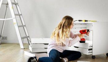 10 steps for installing Flat Pack Kitchen Cabinets