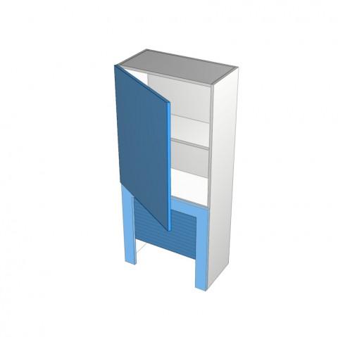 1 door rollerdoor with frame Left
