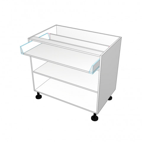 1 drawer with space underneath - No Doors