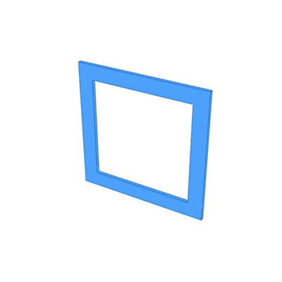 1 hole frame