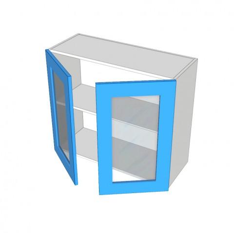 2 Door overhead glass