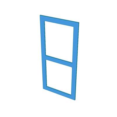 2 hole frame