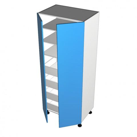 2-Door-Pantry with 4 Internal Drawers
