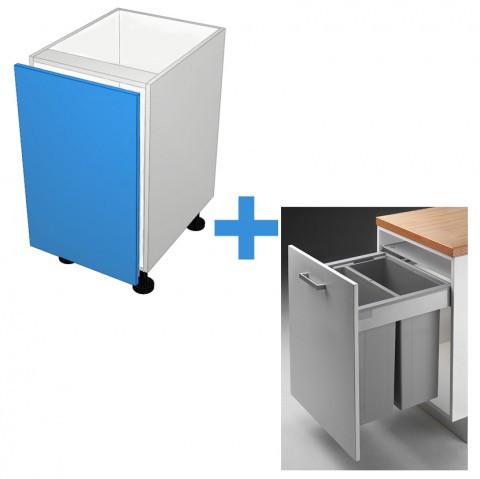 Bin Cabinet with 600mm Wesco Bin Kit_0