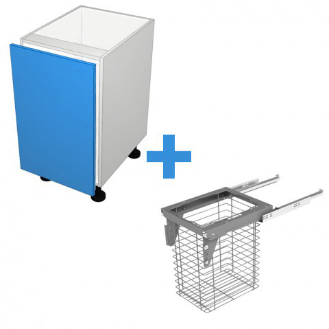 Laundry Cabinet with 450mm Sige Basket