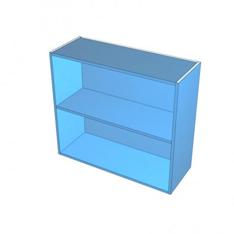 Open Cabinet in Colour Board_Top Edges Un-Edged