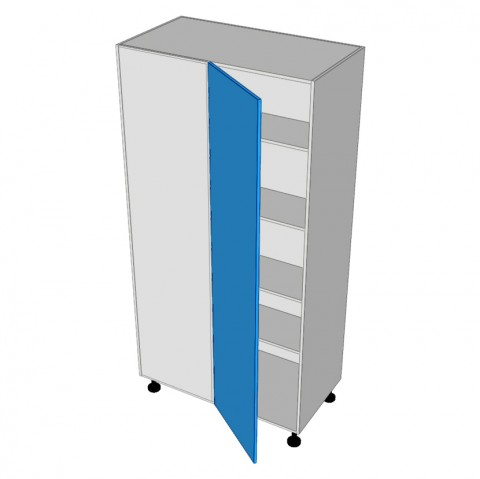 Pantry Cabinet Blind Corner 1 Door Hinged Left