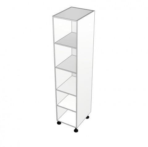 Pantry cabinet with no door