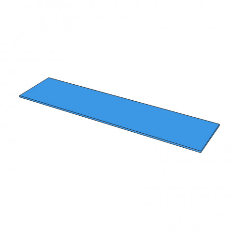 Straight 5400 x 960 - Timber