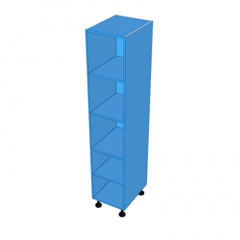 Tall Colour board cabinet_Top Edges Un-Edged
