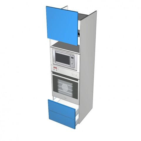 Wall-Oven-2-Drawers HK 1 Lift up Door