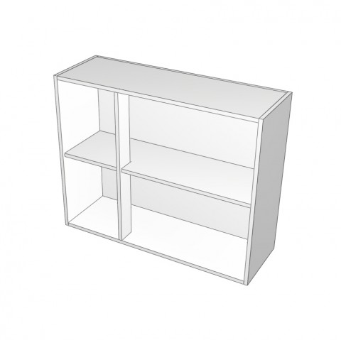 overhead cabinet with left mullion