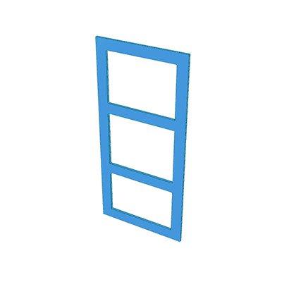 3 hole frame