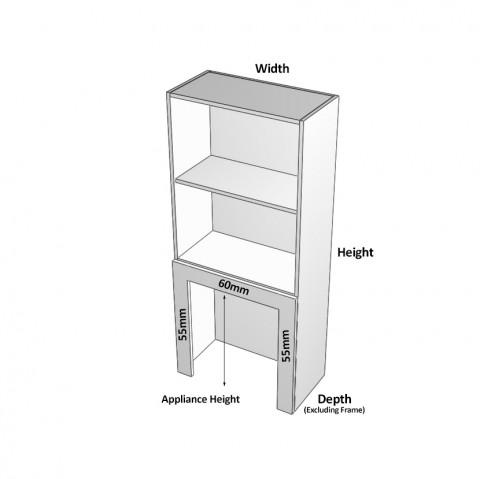 1 door rollerdoor left dimensions