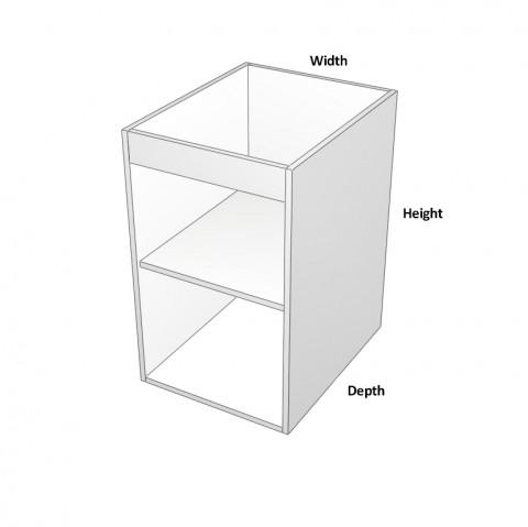 1-Door Sink Cabinet -hinge-left dimensions_0