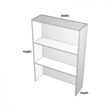 2 doors Sits on benchtop dimensions