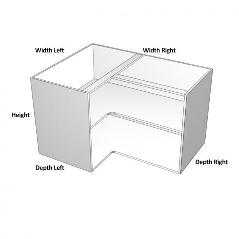 3 door cabinet 2 right 1 left dimensions