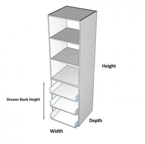3 drawers wardrobe Dimensions