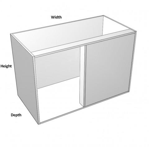 Blind Corner Right Hinge - No shelf - Dimensions