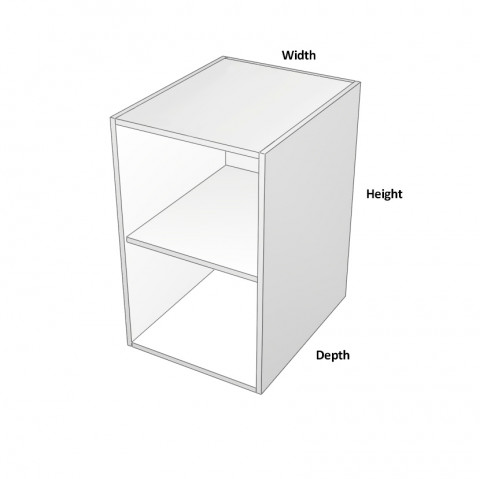 Colourboard Floor Cabinet - Solid_Top-dimensions