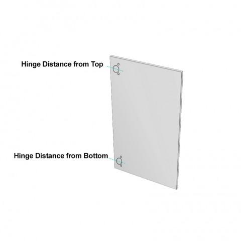 How to Order a door - Acrylic corner door