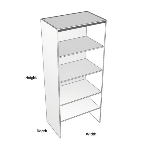 Pantry Bifold Cabinet Right Dimensions