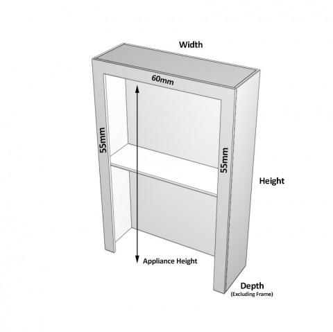 Roller Door Cabinet dimensions