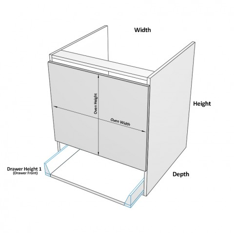 UBO-600-Drawer dimensions