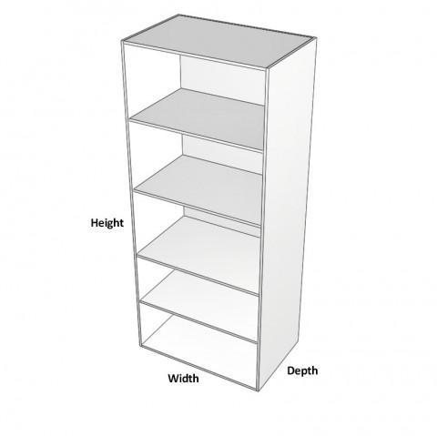 Wardrobe - Adjustable Shelves - Dimensions