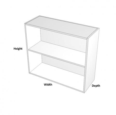 overhead cabinet with no doors