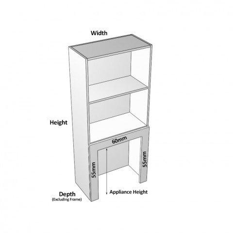 1 door rollerdoor right dimensions