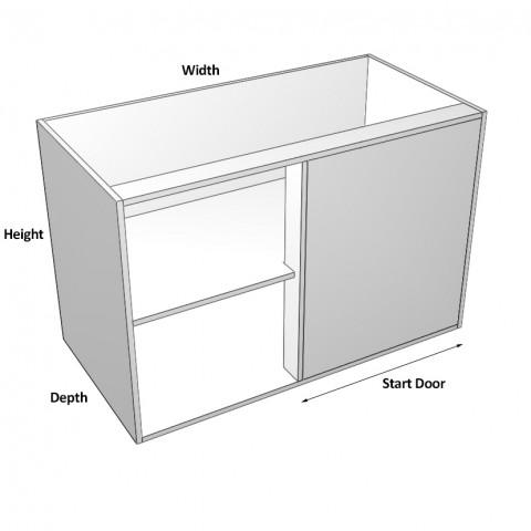 Blind Corner Cabinet 2 doors left dimensions