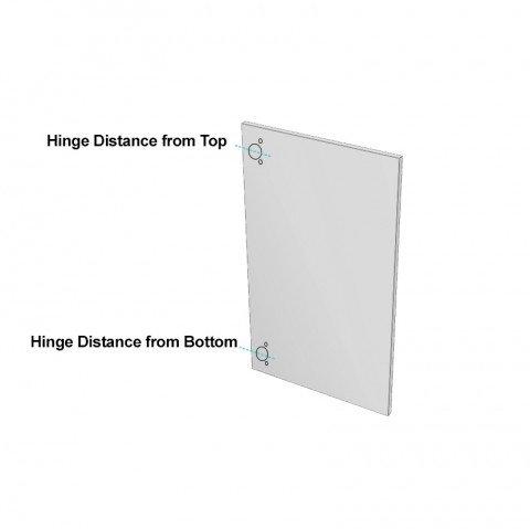 How to Order a door - Laminex ABS Edged Corner Door